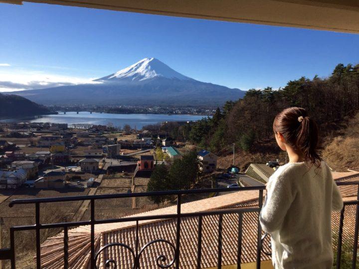 富士山を見てきました