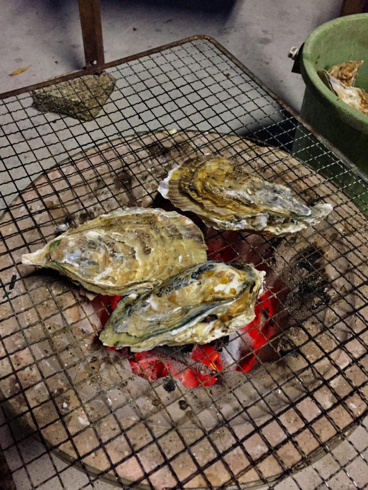 牡蠣の食べ方