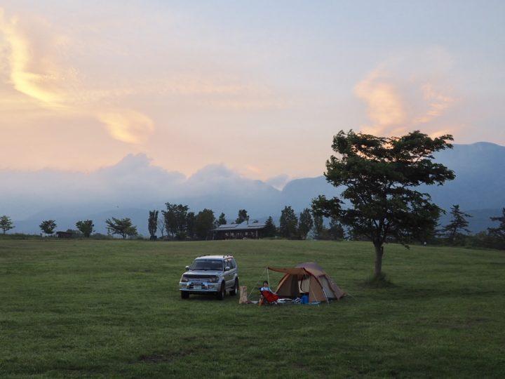 初のテント泊キャンプに行ってきました①