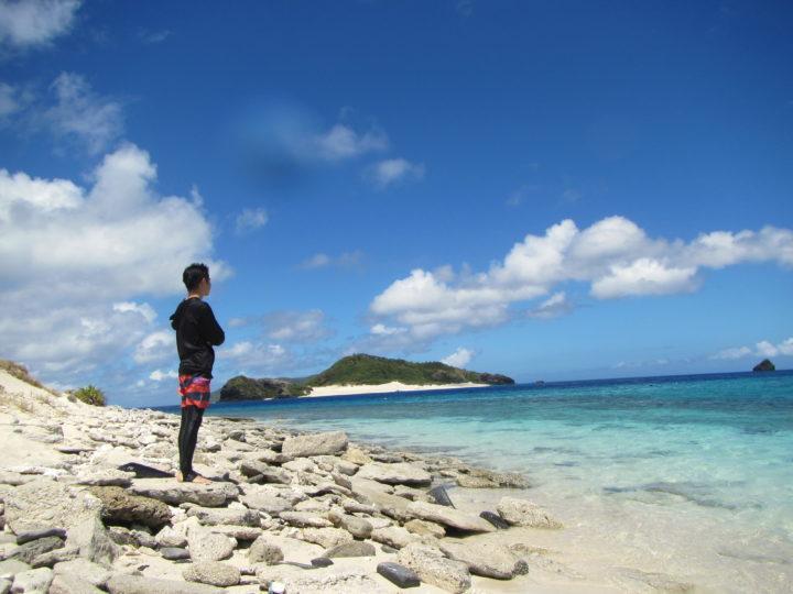 2日目。沖縄・慶良間諸島の座間味に行ってきました