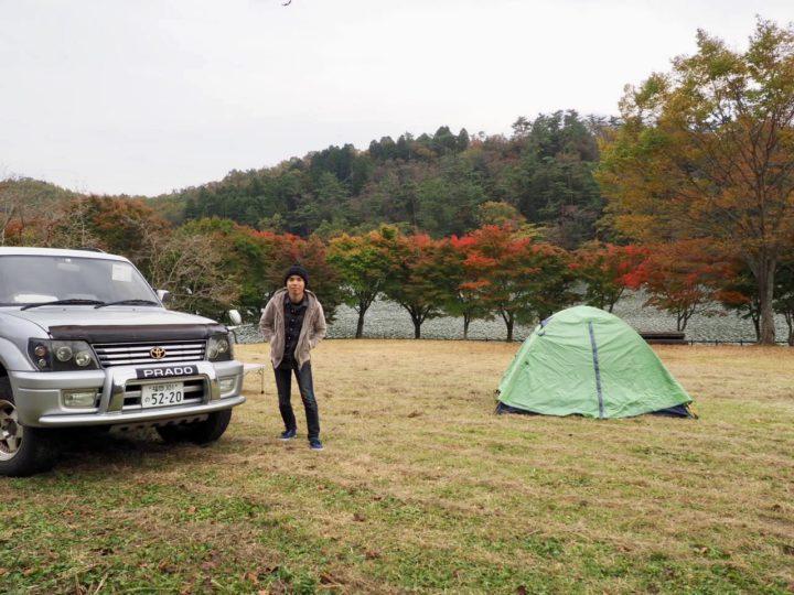 志高湖にてテント泊キャンプ