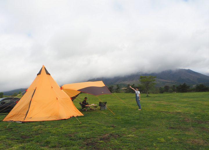 キャンプ再開しました