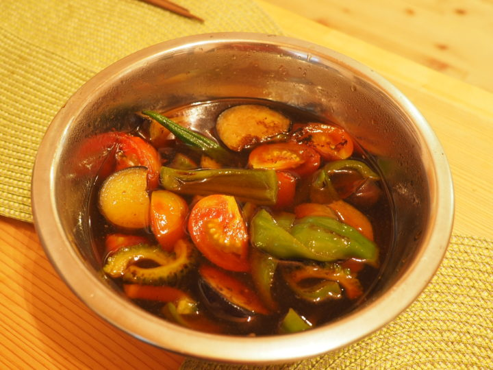 家庭菜園の夏野菜