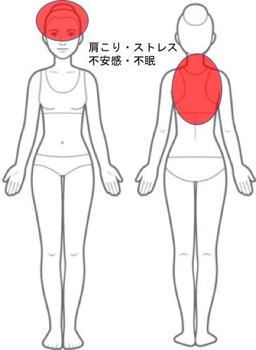 【改善症例】肩こり・ストレス・不安感・不眠