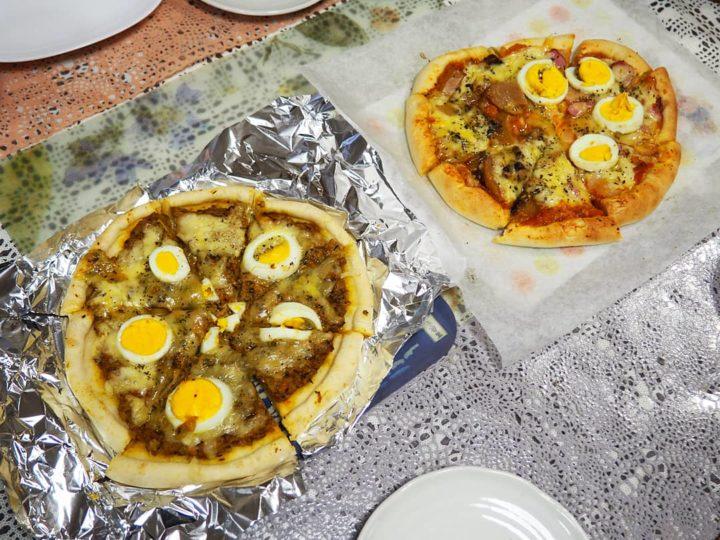手づくりピザ記録