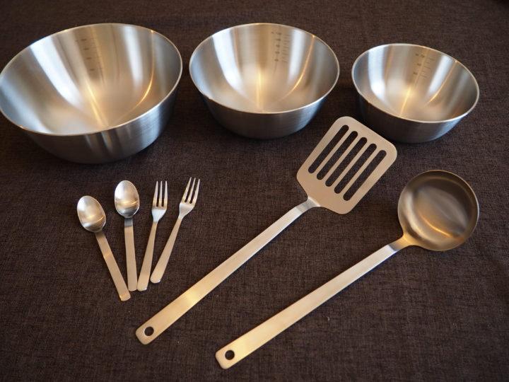 無印良品の調理用具