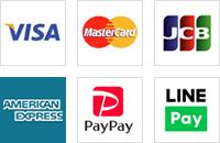 各種クレジットカード・PayPay